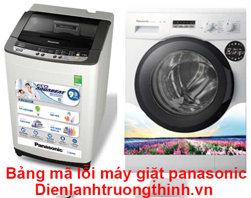 bang ma loi may giat panasonic