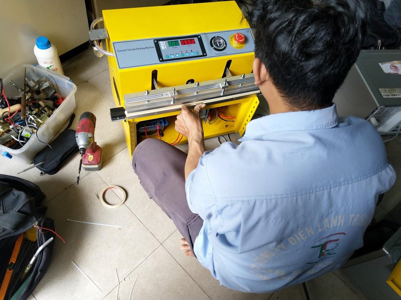 Sửa máy hút chân không đóng gói thực phẩm tại tphcm